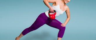 Женские упражнения с гирей