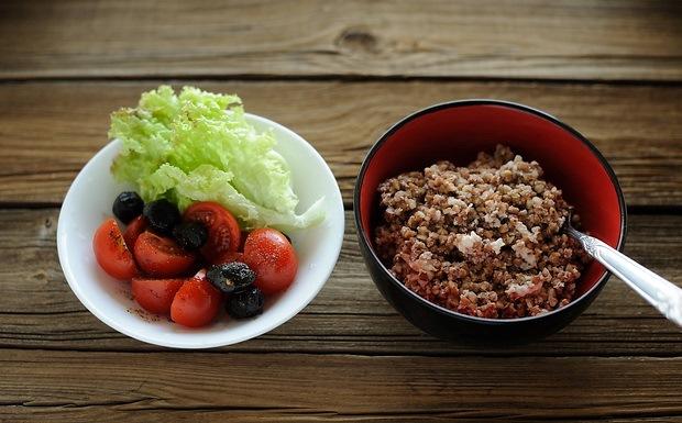 Гречка И Овощи Для Похудения.