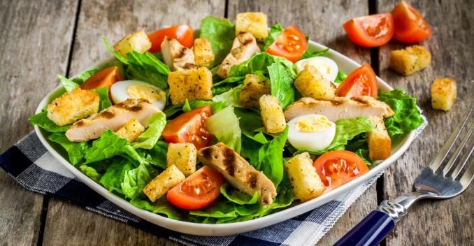 Диетический соус к салату цезарь